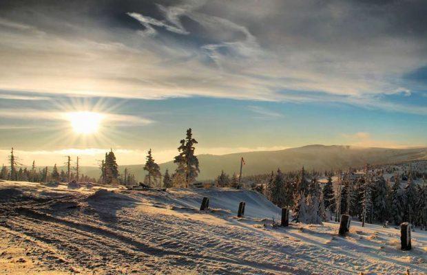 Красноярском крае зима
